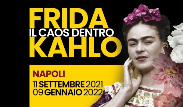 """Mostra Frida Kahalo """" Il caos dentro"""""""